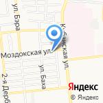 Шашлычный рай на карте Астрахани