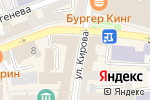 Схема проезда до компании АртСВИТ в Астрахани