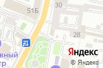 Схема проезда до компании Кватра-Брокер в Астрахани