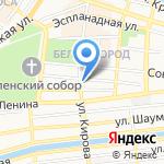 Почта России на карте Астрахани