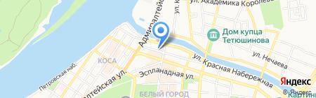 УФСИН России по Астраханской области на карте Астрахани