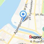 Манилов на карте Астрахани