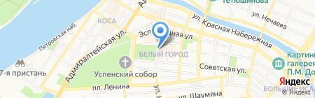 Морковь на карте Астрахани