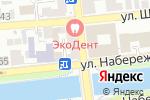 Схема проезда до компании Ольга в Астрахани
