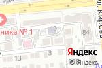 Схема проезда до компании Детская школа искусств №2 в Астрахани