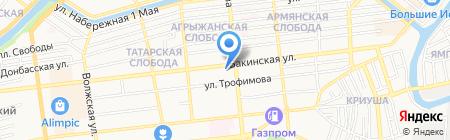 Абсолют Эксперт на карте Астрахани