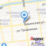 Управление Федеральной службы по надзору в сфере природопользования по Астраханской области на карте Астрахани