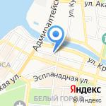 Управление Федеральной службы исполнения наказаний по Астраханской области на карте Астрахани