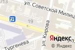 Схема проезда до компании Online в Астрахани
