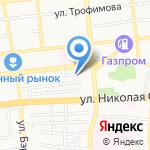 Детская школа искусств №2 на карте Астрахани