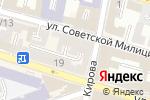 Схема проезда до компании ПРИТЯЖЕНИЕ в Астрахани