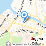 Рапунцель на карте Астрахани