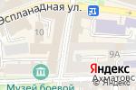 Схема проезда до компании Гусеница в Астрахани