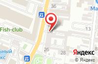 Схема проезда до компании Decole в Астрахани
