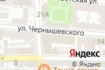 Схема проезда до компании Центр обслуживания клиентов г. Астрахани в Астрахани