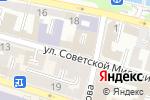 Схема проезда до компании Анис в Астрахани