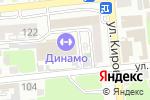 Схема проезда до компании Мужество в Астрахани