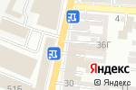 Схема проезда до компании Отделка в Астрахани