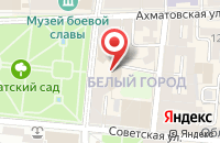 Схема проезда до компании BEAUTY SECRET в Астрахани