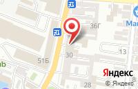 Схема проезда до компании Леда в Астрахани