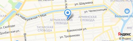 Мастер & К на карте Астрахани