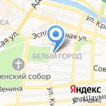Тропиканка на карте Астрахани