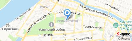 РОЗОВЫЙ СЛОН на карте Астрахани