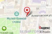 Схема проезда до компании ВИЗАВИ shoes в Астрахани