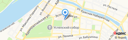 ВИЗАВИ shoes на карте Астрахани