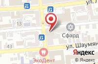 Схема проезда до компании ТопКран-Юг в Астрахани