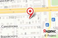 Схема проезда до компании Кригенс Спорт в Астрахани