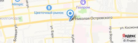 Кригенс Спорт на карте Астрахани