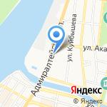 Дружина на карте Астрахани