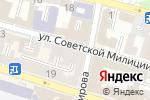 Схема проезда до компании Рапунцель в Астрахани