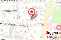 Схема проезда до компании Интерьер-Дизайн в Астрахани