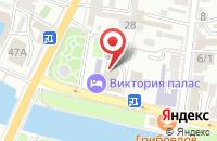 Схема проезда до компании Домкор в Астрахани
