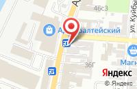 Схема проезда до компании Мегадвери в Астрахани