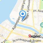 Астраханьспецгазавтосервис на карте Астрахани