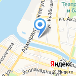 Домкор на карте Астрахани