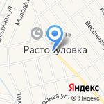 Перекресток на карте Астрахани