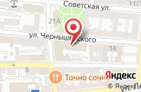 Схема проезда до компании Почта России в Астрахани