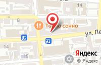 Схема проезда до компании Эдем в Астрахани