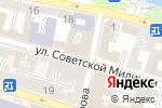Схема проезда до компании Эрида в Астрахани