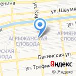 Шуры-Муры на карте Астрахани