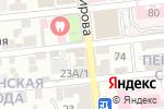 Схема проезда до компании Столовая №100 в Астрахани