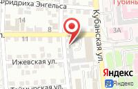 Схема проезда до компании ТехноСтрой в Астрахани