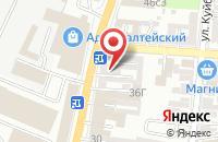 Схема проезда до компании Юридическая фирма в Астрахани