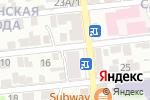 Схема проезда до компании Q-ROOMS в Астрахани