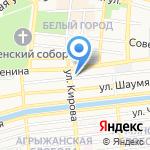 Центр торгов и бизнеса на карте Астрахани