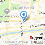 Безопасность на карте Астрахани